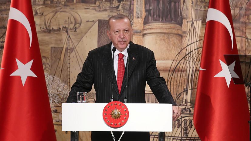 Эрдоган намерен договориться с Россией о выводе курдов из Манбиджа