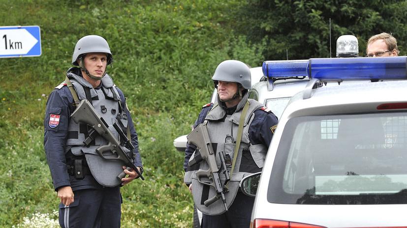 Два человека погибли при нападении беженца с ножом в Австрии