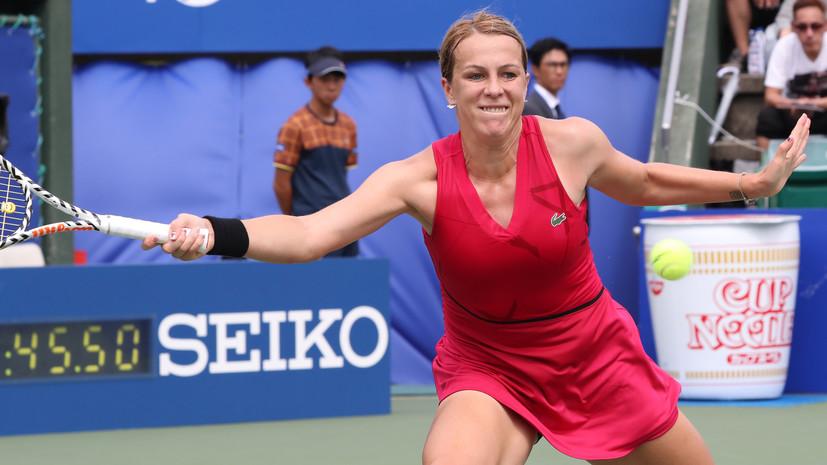 Павлюченкова обыграла Кудерметову и вышла в полуфинал Кубка Кремля