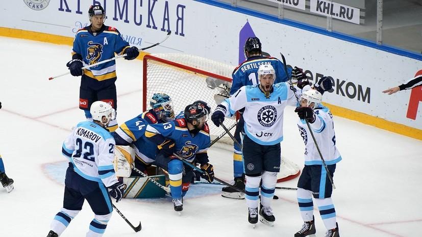 «Сочи» потерпел шестое поражение подряд в КХЛ, уступив «Сибири»