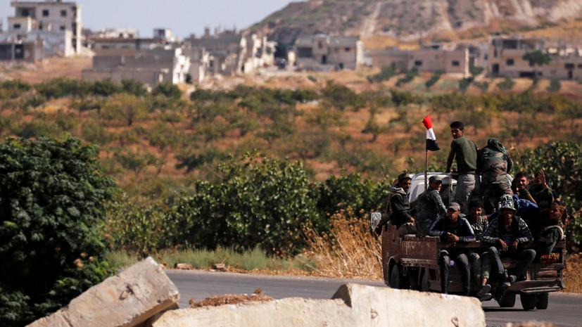 SANA: Армия САР ведёт бой с протурецкими группами в приграничном районе