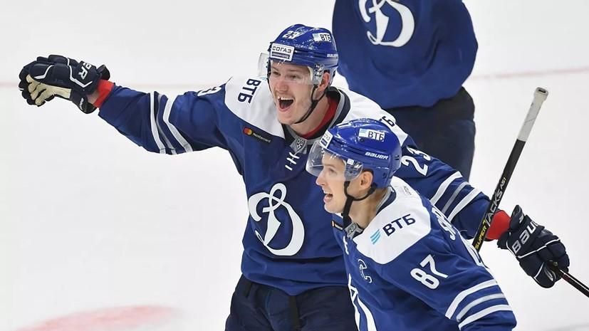 Форвард «Динамо» Шипачёв вошёл в пятёрку лучших снайперов в истории КХЛ