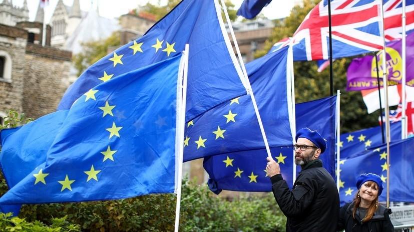ЕС ожидает от Британии информации о своих дальнейших шагах по брекситу