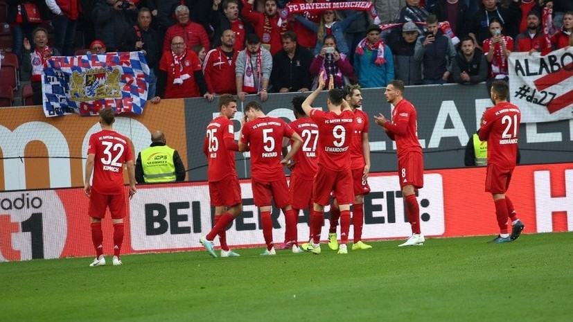 «Бавария» и «Аугсбург» разошлись миром в матче Бундеслиги