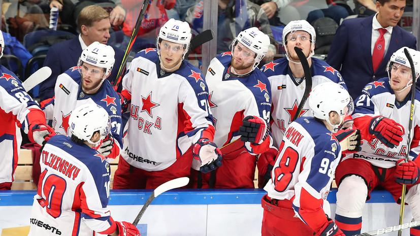 ЦСКА обыграл «Трактор» и одержал шестую победу подряд в КХЛ