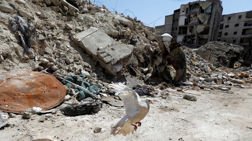 СМИ: В Алеппо произошло несколько взрывов
