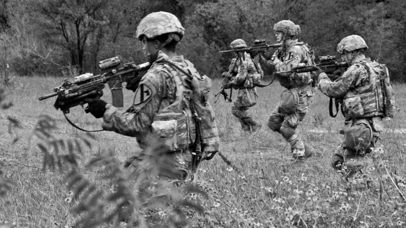 В США во время тренировки погибли трое военных