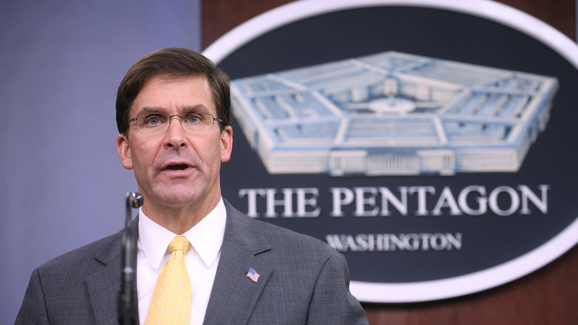 В Пентагоне допустили проведение новых военных операций в Сирии