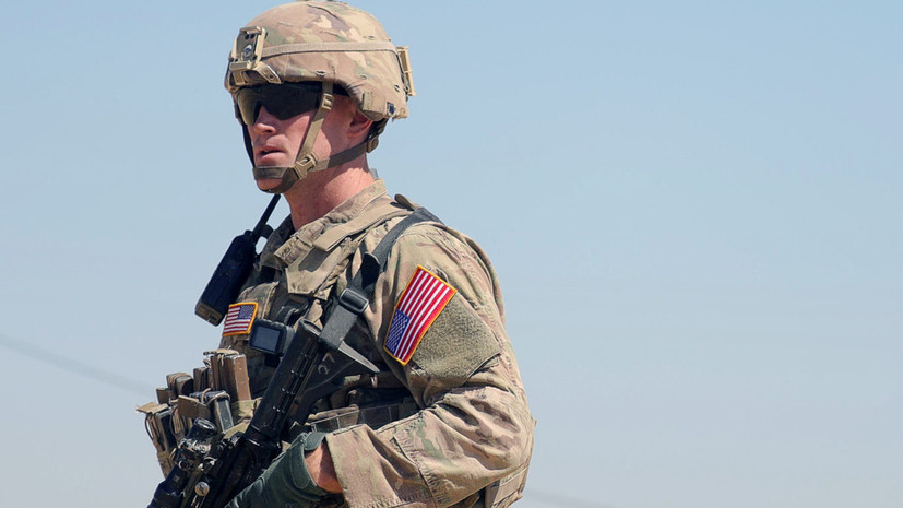 США оставят часть своих военных около нефтяных полей в Сирии