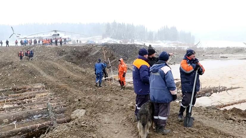 Путину доложили о ЧП с дамбой в Красноярском крае