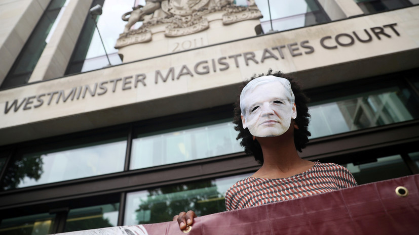 В WikiLeaks назвали абсурдным решение суда по делу Ассанжа