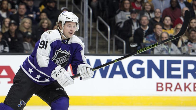 Три очка Тарасенко помогли «Сент-Луису» обыграть «Колорадо» в НХЛ