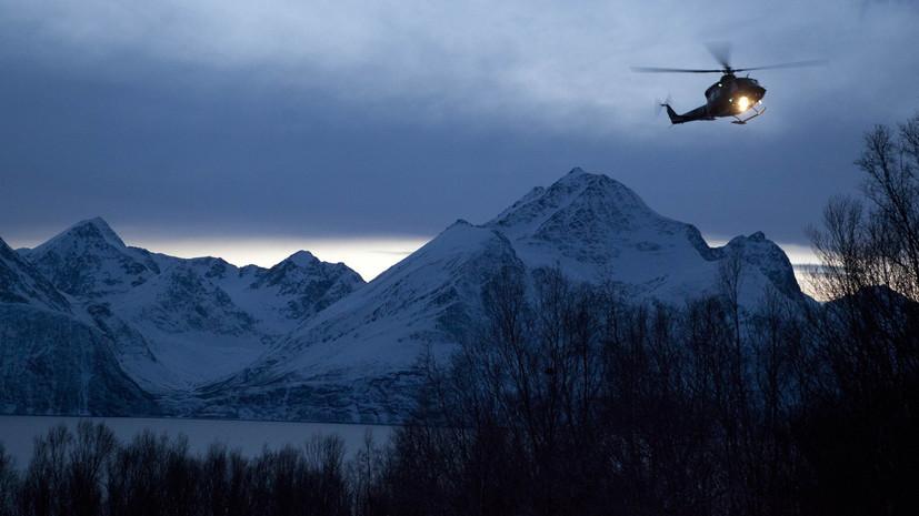 Российский ледокол подал сигнал бедствия у берегов Норвегии