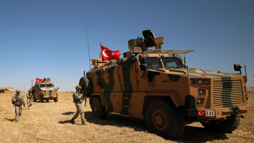 В Турции назвали число погибших и раненых военных при операции в Сирии
