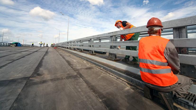 В Москве рассказали о темпах строительства автомагистралей