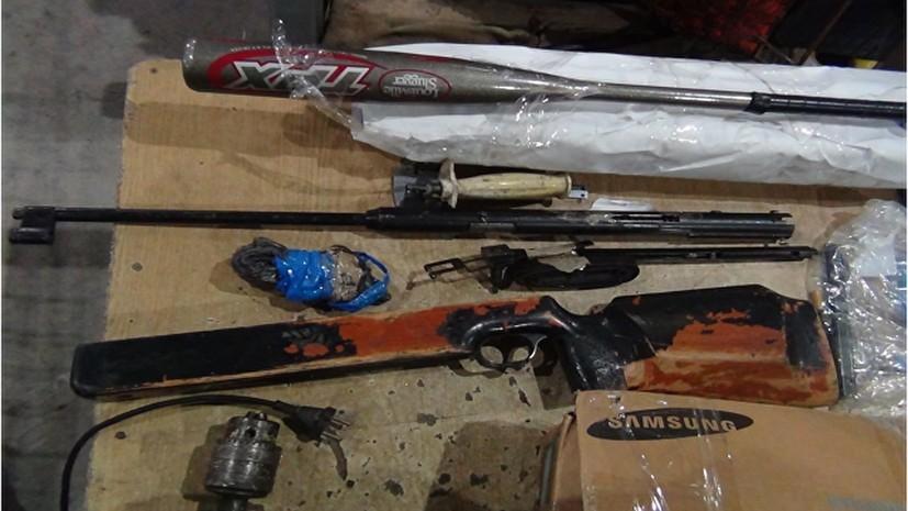 В Крыму пресекли 40 попыток провоза оружия и боеприпасов с начала года