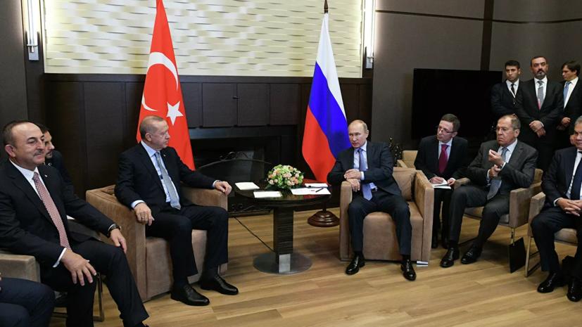Путин и Эрдоган обсудили использование карт «Мир» в Турции