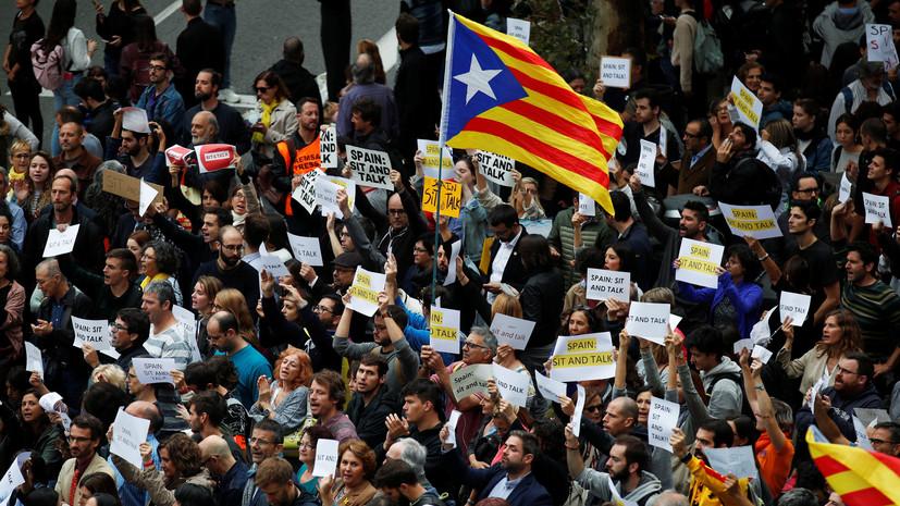 Около 600 человек пострадали за неделю беспорядков в Барселоне