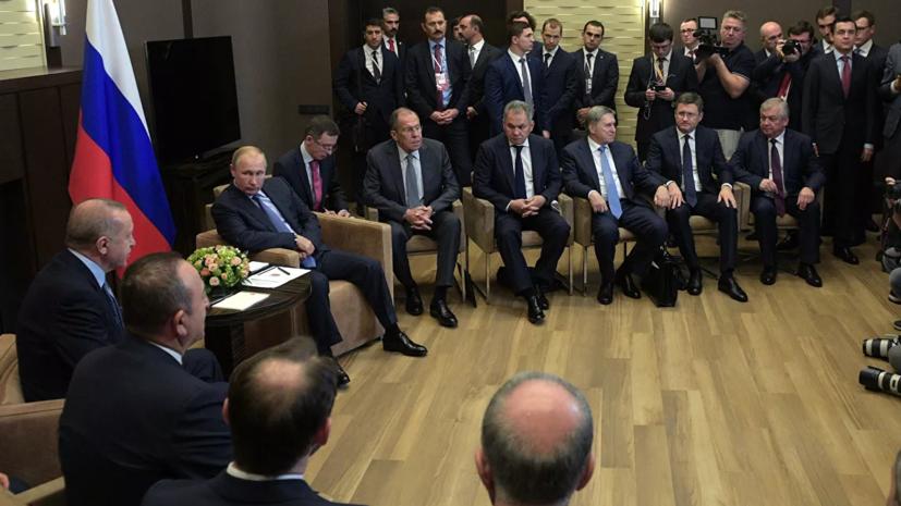 Путин назвал решения по итогам встречи с Эрдоганом судьбоносными