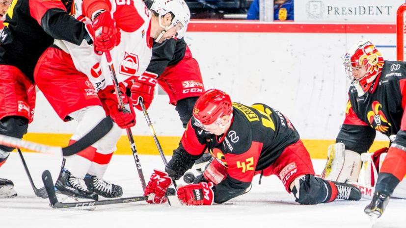 «Спартак» обыграл «Йокерит» в матче КХЛ