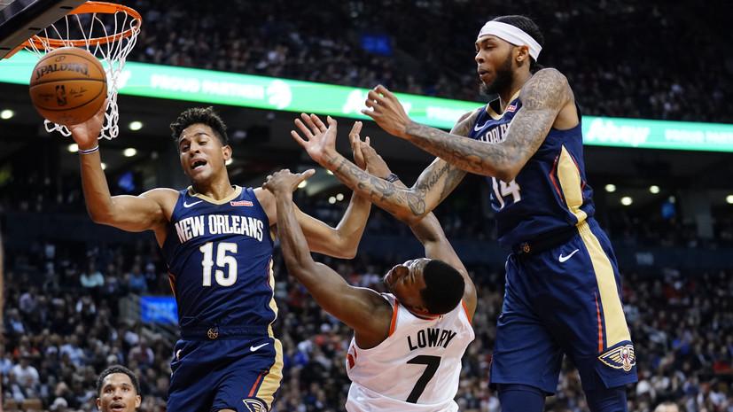 «Торонто» взял верх над «Нью-Орлеаном» в первом матче нового сезона НБА