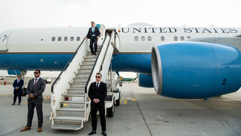Глава Пентагона прибыл с необъявленным визитом в Багдад