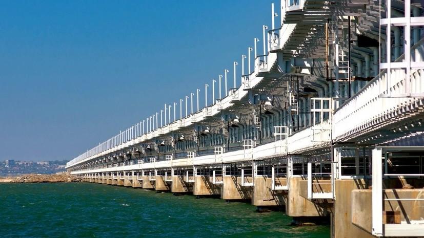 В Госдуме отметили сакральный смысл открытия ж/д части Крымского моста