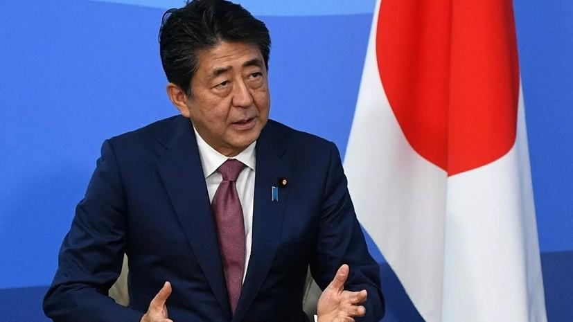 Абэ заверил Зеленского в поддержке Японией реформ на Украине