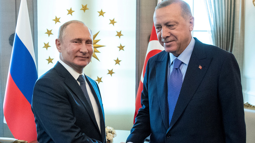 В Берлине прокомментировали договорённости Путина и Эрдогана по Сирии