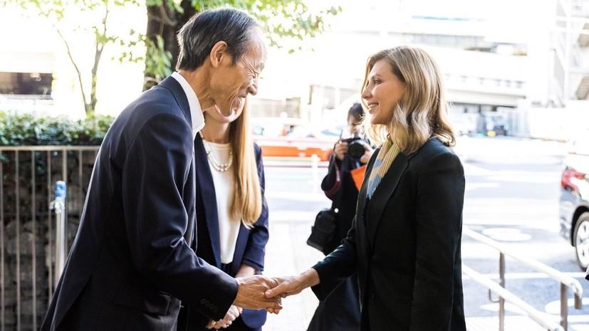Эксперт прокомментировала наряд Елены Зеленской на церемонии в Японии
