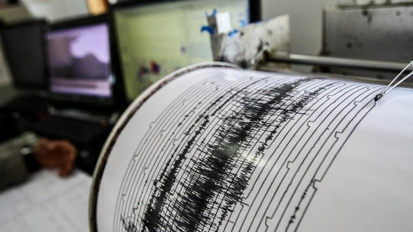 На юге Атлантического океана произошло землетрясение магнитудой 5,6