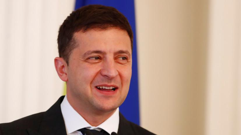 Зеленский пригласил Абэ посетить Украину