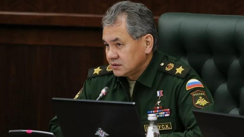 Шойгу провёл переговоры с главкомом Сирийских демократических сил