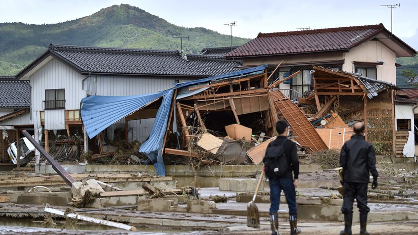 Урон сельскому хозяйству Японии от тайфуна «Хагибис» превысил $900 млн