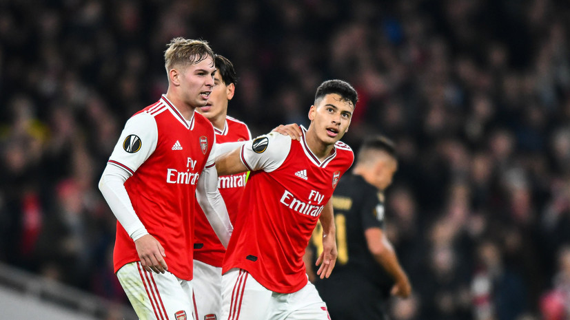 Волевая победа «Арсенала», три удаления в Ренне и дубль Яремчука за «Гент»: главные события игрового дня Лиги Европы
