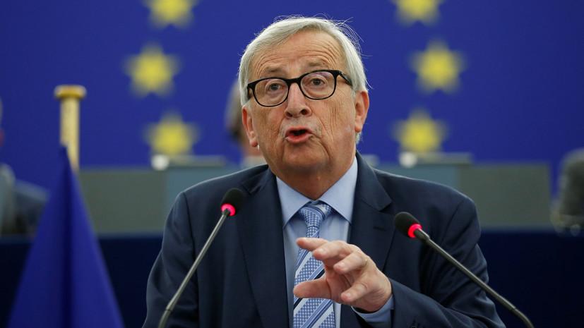 Юнкер обвинил Джонсона во лжи о ЕС во время референдума по брекситу