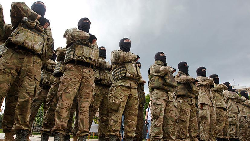 Радикальная защита: в Раде и МВД Украины выступили против планов конгрессменов США признать бойцов «Азова» террористами