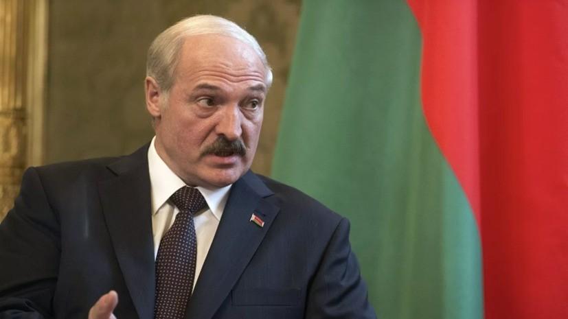 Лукашенко назвал беспрецедентной переброску войск США в Литву