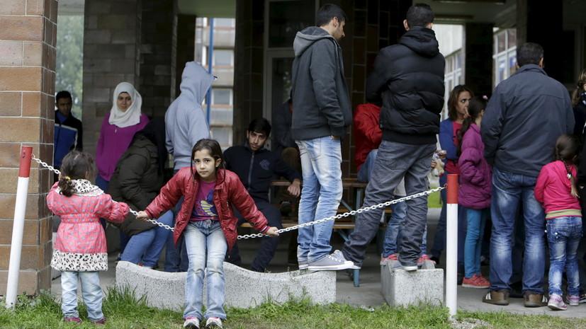 В Словакии обнаружили 11 прибывших на грузовом поезде детей-беженцев