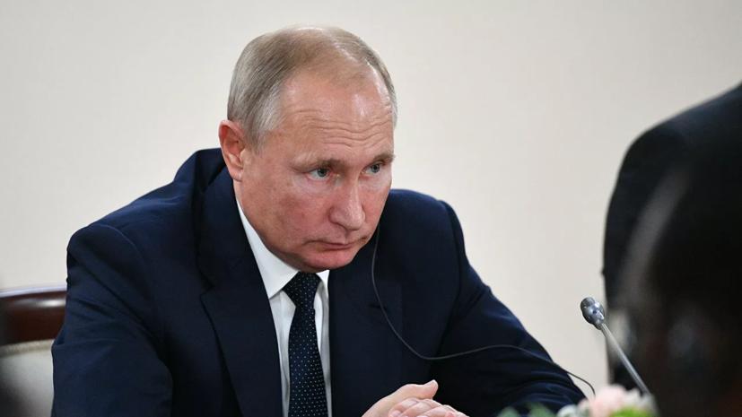 Путин принял приглашение президента Кубы посетить страну
