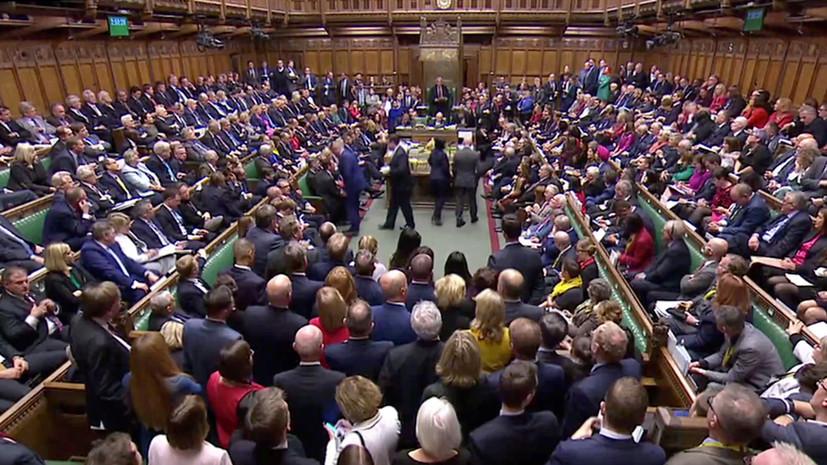 Парламент Британии принял во втором чтении проект о досрочных выборах
