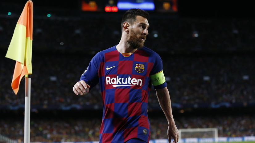 Месси обошёл Роналду по количеству голов на клубном уровне