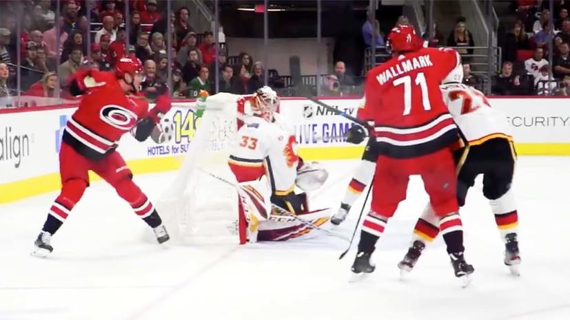 «Будете пересматривать гол с открытым ртом»: в США восхищены невероятной шайбой Свечникова в НХЛ
