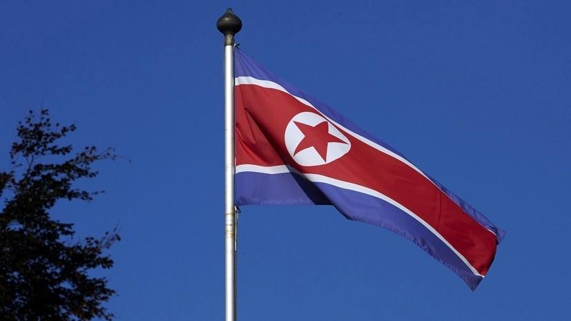 СМИ: КНДР запустила неопознанный снаряд