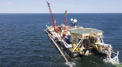 «Газпром» назвал ситуацию с выдачей разрешения на СП-2 геополитической