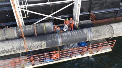 Минэнерго рассчитывает на сохранение маршрута «Северного потока — 2»