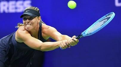 Шарапова не сыграет на турнире WTA в Линце из-за травмы