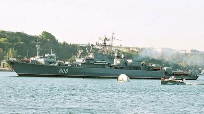 Сторожевой корабль ЧФ возвращается из Средиземного моря в Севастополь