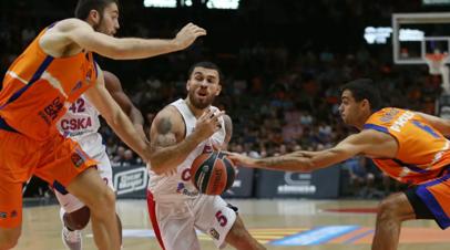 Баскетболист ЦСКА Джеймс стал MVP первого тура Евролиги