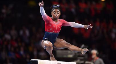 Байлз побила рекорд Хоркиной по числу медалей на ЧМ по спортивной гимнастике
